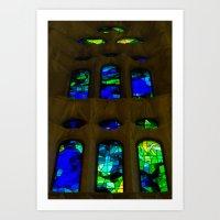 Sagrada Familia #7 Art Print
