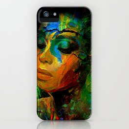PAINTING IS POETRY 002 iPhone Case