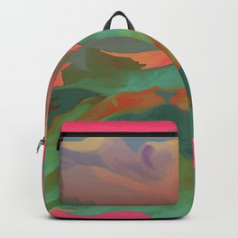 Pink Valley Backpack