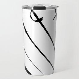 Sword Silhouettes Travel Mug