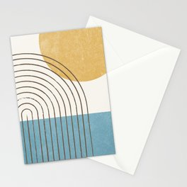 Sunny ocean Stationery Cards