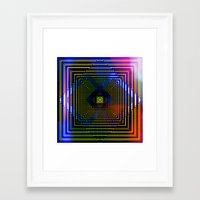 square Framed Art Prints featuring Square by Mr and Mrs Quirynen