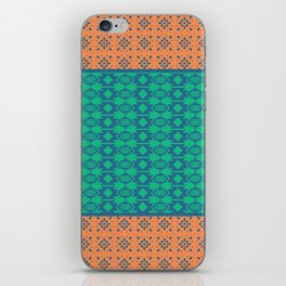 Bohemian Ethnic Mosaic Pattern iPhone Skin