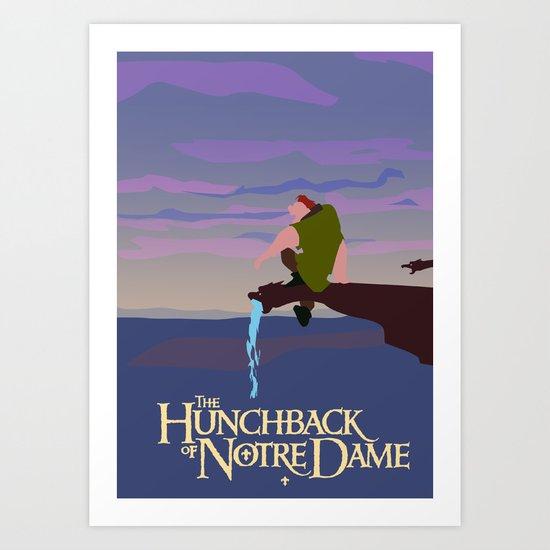 Hunchback of Notre Dame Art Print