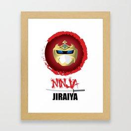 Jiraiya, The Incredible Ninja Framed Art Print