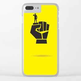 Punch of Soldier Clear iPhone Case