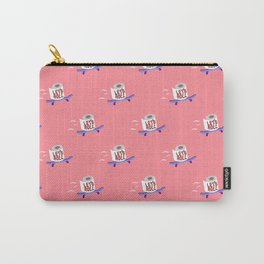 Let's Roll! Peachy Carry-All Pouch
