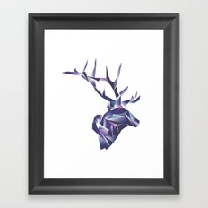 Stag Framed Art Print