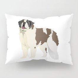 Saint Bernard Dog Pillow Sham