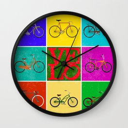Velo Love – 8 Bikes PoP - June 12th – 200th Birthday of the Bicycle Wall Clock