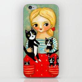 Pockets full of Kittens! iPhone Skin