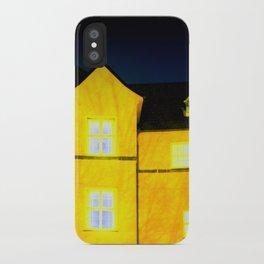 One cold night in Bergen 01 iPhone Case