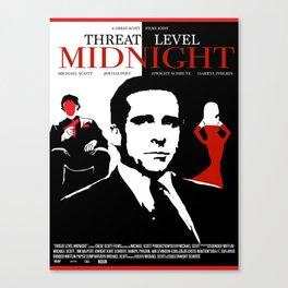 The Office: Threat Level Midnight Movie Canvas Print