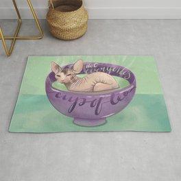 Not Everyone's Cup Of Tea - Sphynx Cat - Part 4 Rug