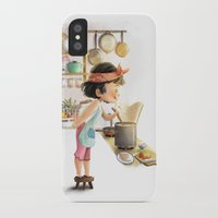 cooking iPhone & iPod Cases featuring Cooking by Dung Ho