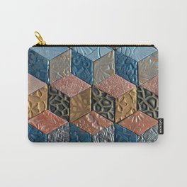 Tumbling Blocks #3 Carry-All Pouch