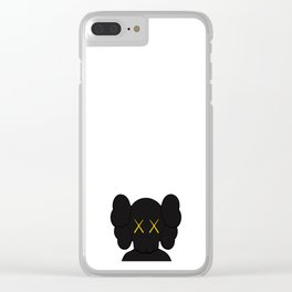 KAWS - Companion Black Clear iPhone Case