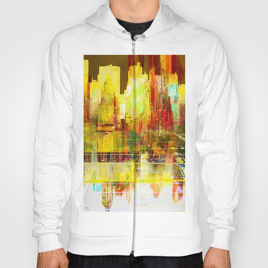 Reflection of a city Hoody