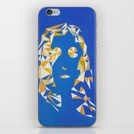 """ The girl with kaleidoscope eyes "" / Acrylic on canvas. iPhone Skin"