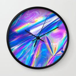 Just A Hologram Wall Clock