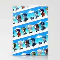 dmmd Stationery Cards featuring DMMD chibi by mao00mao & darkson