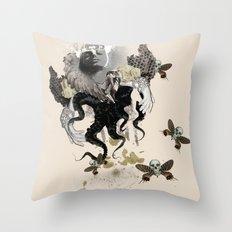 Lust of an Angel Throw Pillow