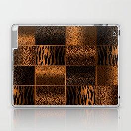 Golden Brown Jungle Animal Patterns Laptop & iPad Skin