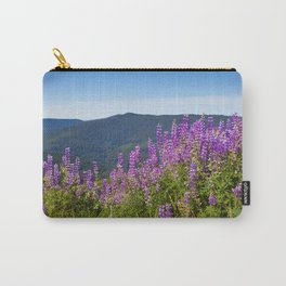 The Lupines in the Hills Carry-All Pouch