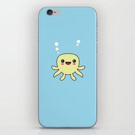 Kawaii Octopus iPhone Skin
