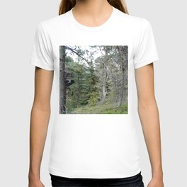 Crow, the forest gate keeper T-shirt