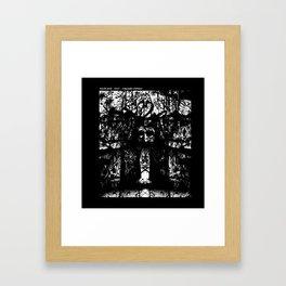 Birch God Framed Art Print