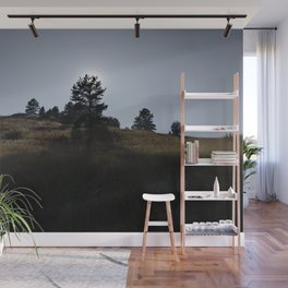 Sunset Silhouettes Wall Mural