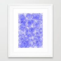 bubbles Framed Art Prints featuring Bubbles by Harvey Warwick
