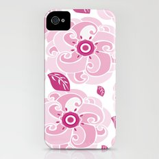 Twirly Rose iPhone (4, 4s) Slim Case