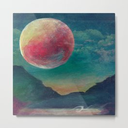 On The Nature Of Moonlight Metal Print