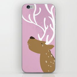 Crying Deer iPhone Skin