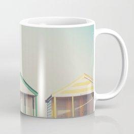 beach hut roofs ... Coffee Mug