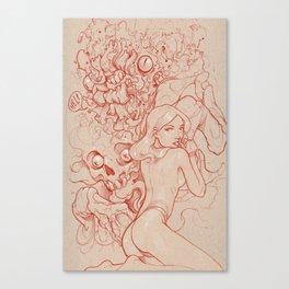 Animal Brain Canvas Print
