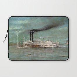 Steamboat Robert E. Lee Painting Laptop Sleeve