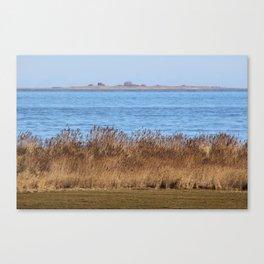At the beach 7 Canvas Print