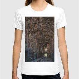 Large gallery in an industrial building T-shirt