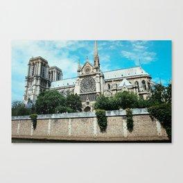 Notre Dame River Point Canvas Print