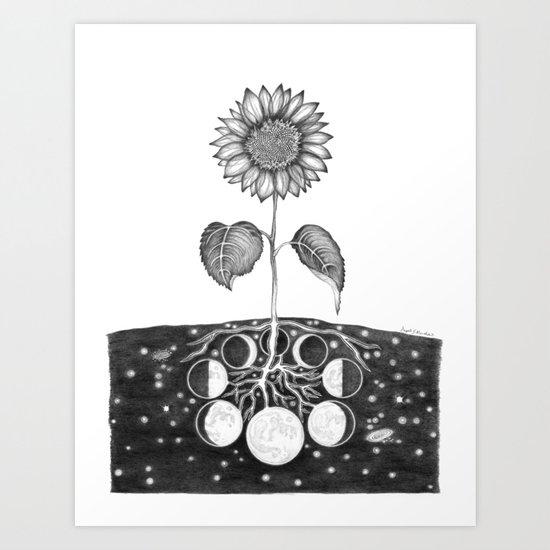 Prāṇa (Life Force) Art Print