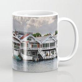Boathouses At Henley on Thames Coffee Mug