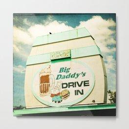Big Daddy's drive in Metal Print