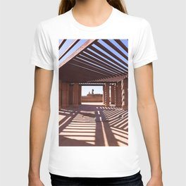 Shadows And Lights On Marrakech Rooftop T-shirt