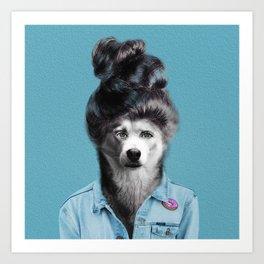 HUMAN DOG Art Print