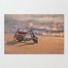 Summertime ride Canvas Print