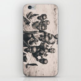 African children. iPhone Skin