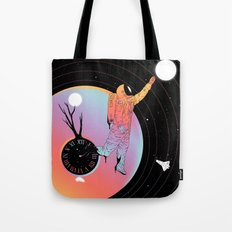 Out of Time (The Current State of Existence) Tote Bag
